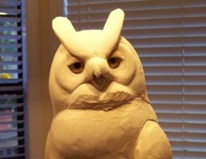 Owl in Progress